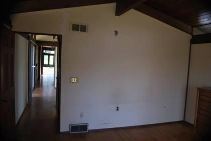 Master bedroom wall