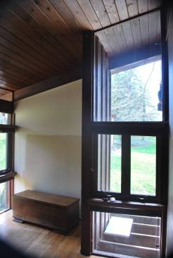 Front bedroom windows
