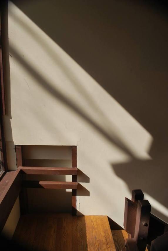 Going down basement steps