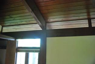 Transom windows line the entire 1st floor interior