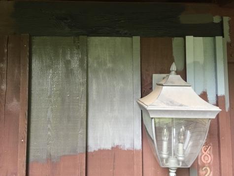 Front Porch Color Testing