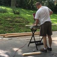 Cutting the slats